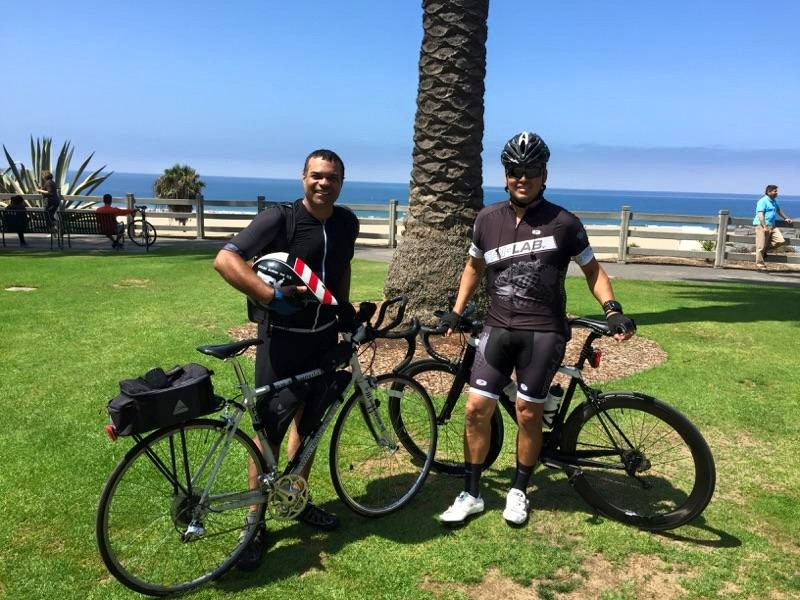 Riding with one of the best guys alive, Lloyd Taylor from Triathlon Lab